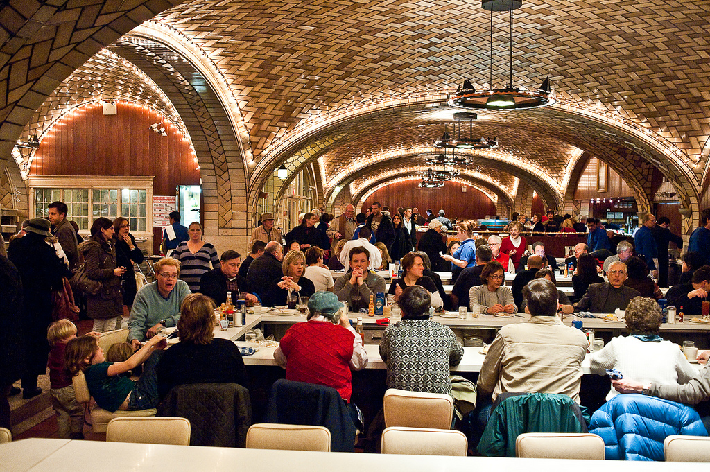 The Oyster Bar, Grand Central Terminal, New York, NY. The oldest