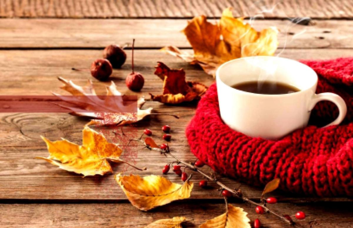 Tómate un café con manzana: ya es otoño