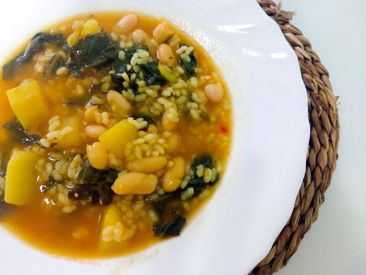 L'arròs amb bledes (Arroz con acelgas)